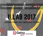 U.LAB 2017  Leading from the emerging future Ikastaroa